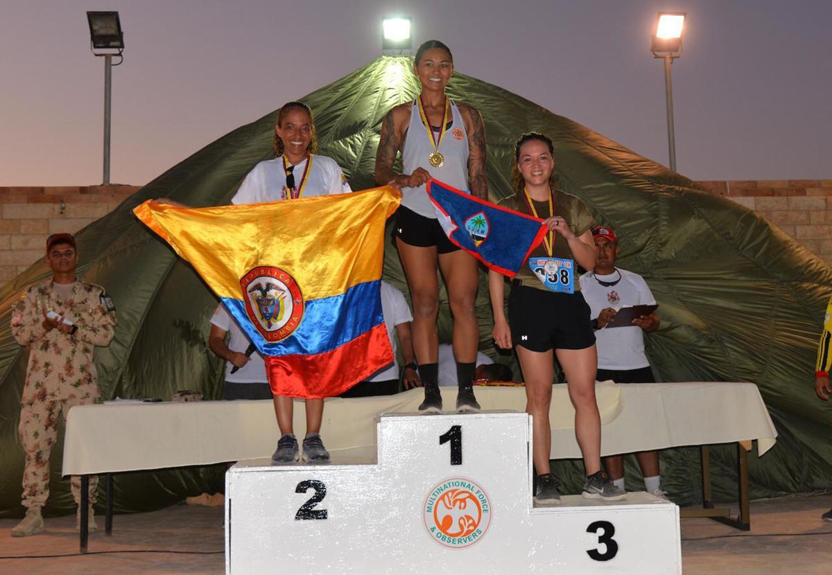 Guam Guard wins Egyptian 11K