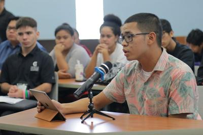 UOG students speak out against tuition hike