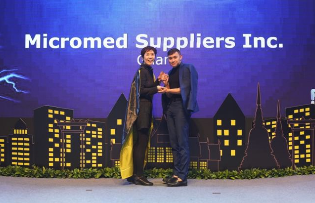 Guam medical supplier wins award in Singapore