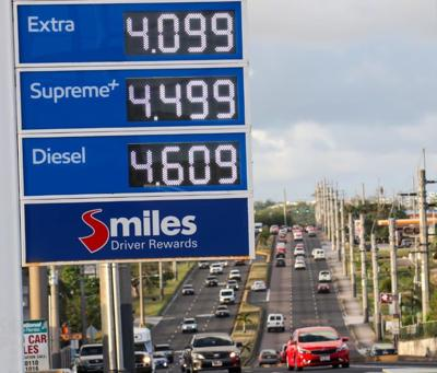 Gas prices drop 10 cents