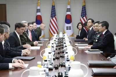 US, SKorea break off defense talks over Trump demand