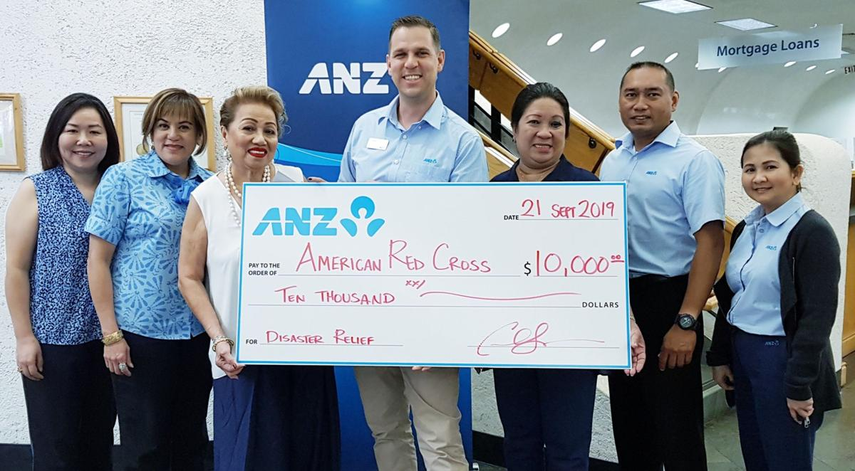ANZ donates $10K for ARC Guam chapter's Red Ball