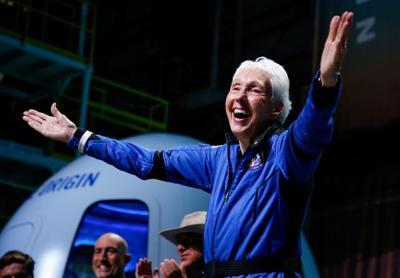 Pioneering female aviator Wally Funk is 'America's new sweetheart'