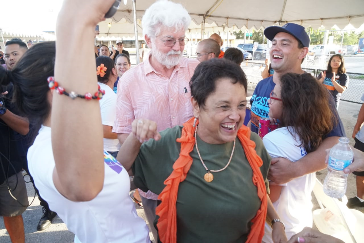 Cook ready for role as Guam's first 'first gentleman'