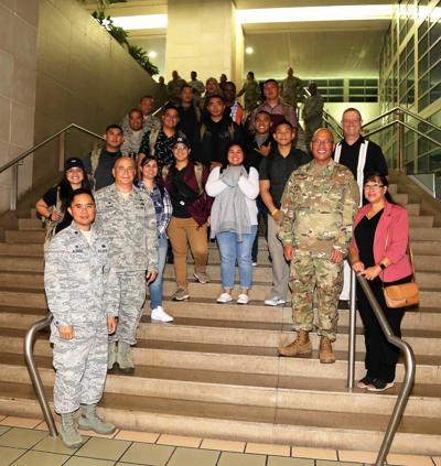 Guam Guard airmen depart for deployment