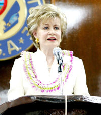 Bordallo to address Legislature