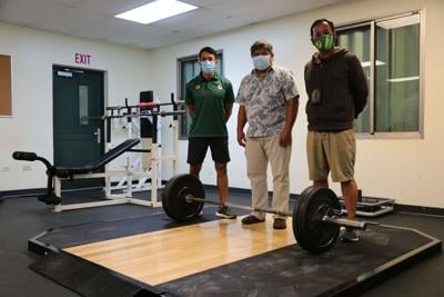 GFA donates new weightlifting platforms to 4 high schools
