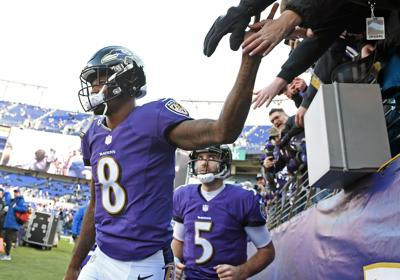 Lewis wanted Flacco to come in off bench. ON THE WAY OUT  Baltimore Ravens  Lamar Jackson ... 10a1c7722