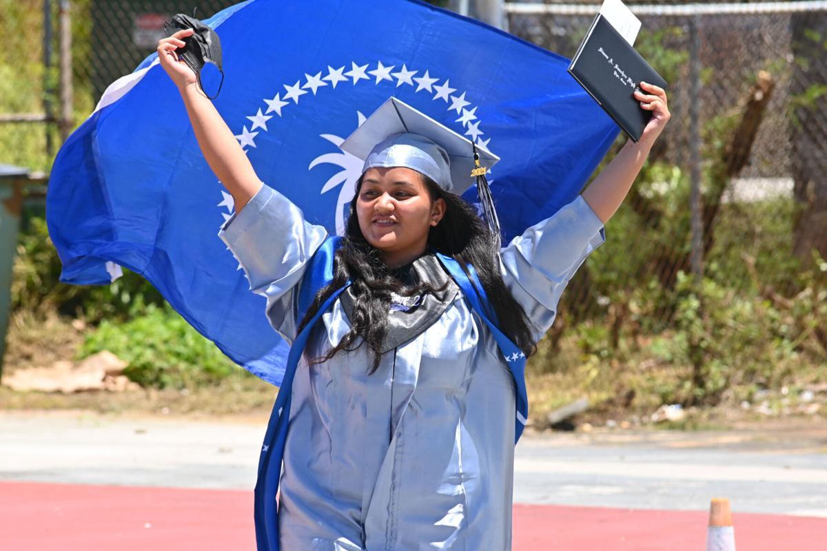 Sharks Class of 2021 receive diplomas