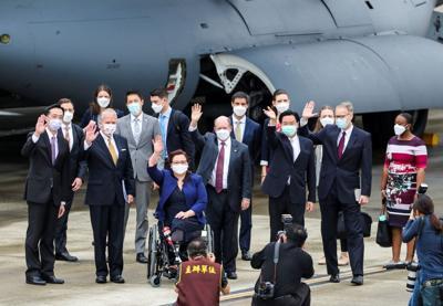 US senators promise 750,000 vaccine doses in Taiwan visit
