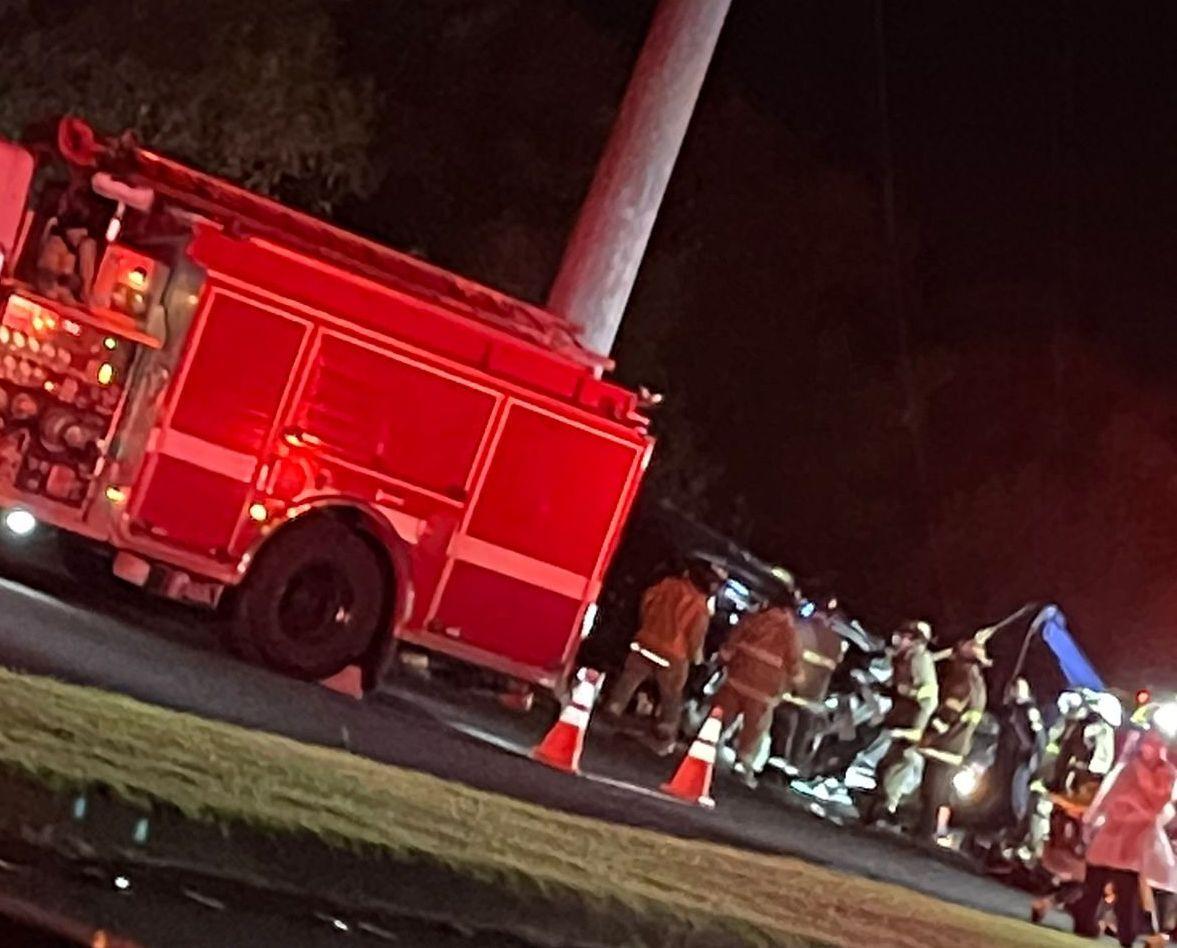 Fatal car crash in Piti