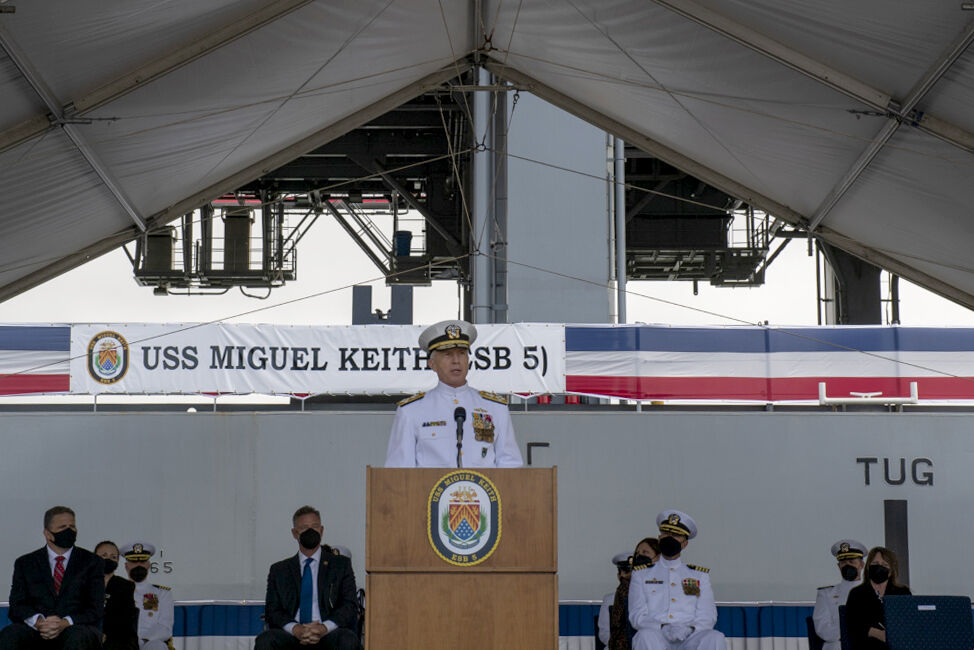 US Navy warship to be based out of Saipan