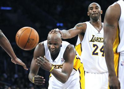 Lamar Odom prepares to fight Aaron Carter, but first he fought PTSD