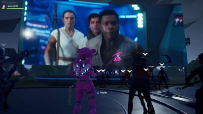 After a delay, Fortnite players get treated to free 'Star Wars' items and a new scene