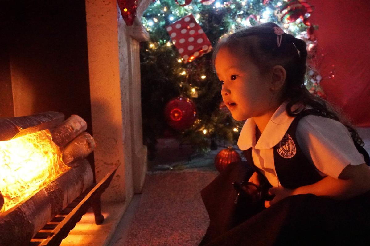 Families enjoy Christmas display in Hagåtña