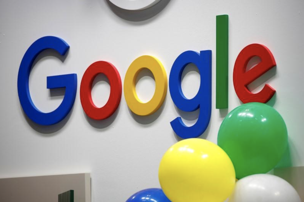Google, which company just hit $1T?