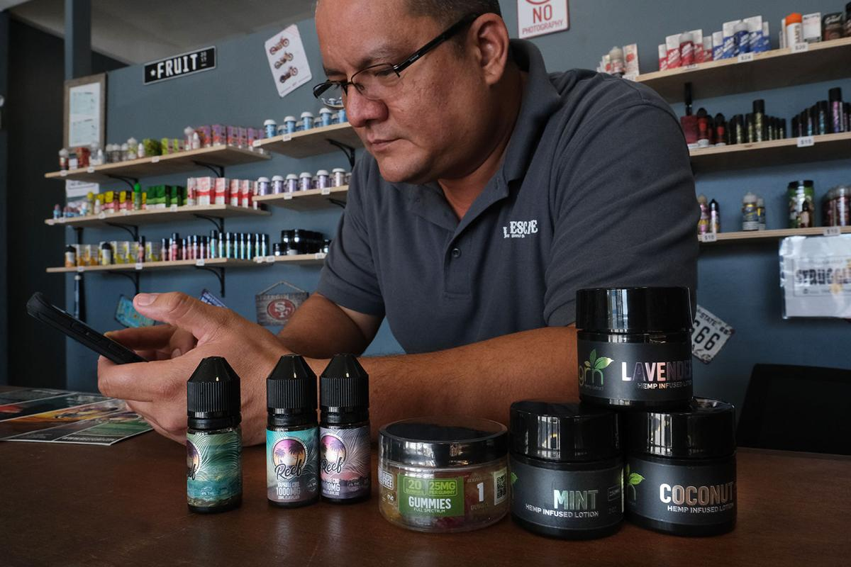 Military members are warned not to use CBD