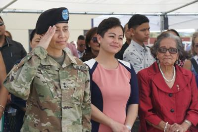 Give the new Guam Guard adjutant general a chance to prove her leadership