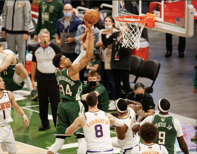 Giannis powers Bucks to Game 3 victory