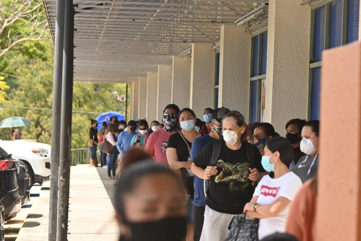 ROSS reopening day draws long lines