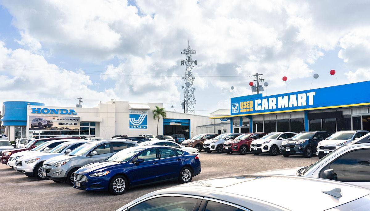 Triple J moves Used Car Mart to Tamuning and Upper Tumon