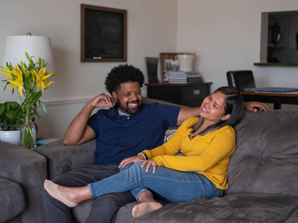 What happens when domestic duties shift? These couples found out