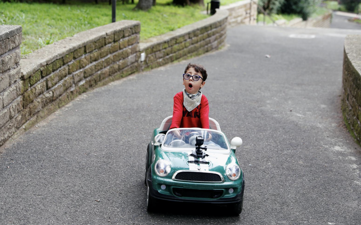 Italian influencer, 7, challenges disability stereotypes