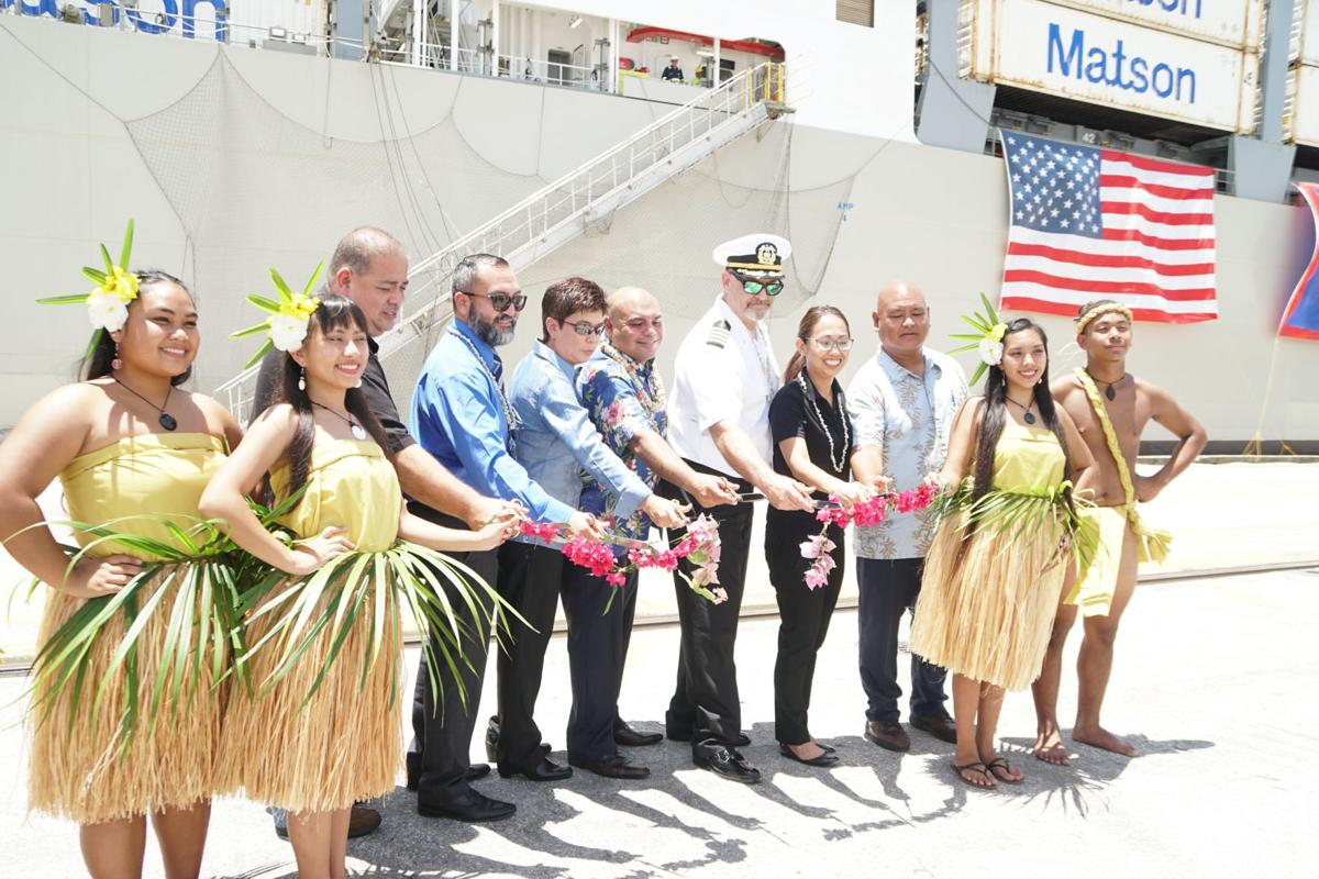 Matson ship ushers in new era