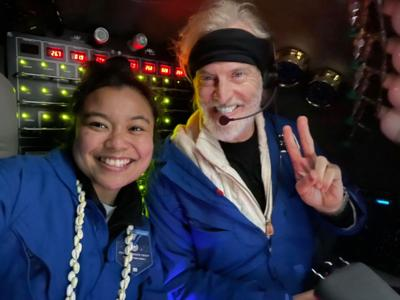 Yamase is first Pacific Islander to reach Challenger Deep