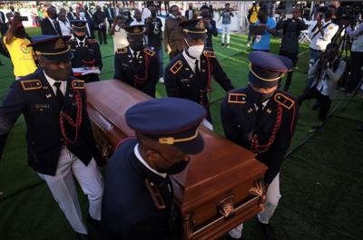 Violent protests mar Moïse funeral, prompt US, UN to leave