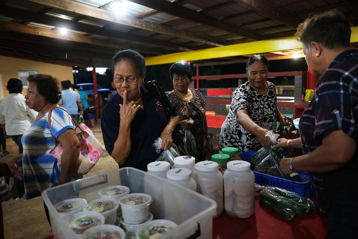 Peleliu Club launches night market