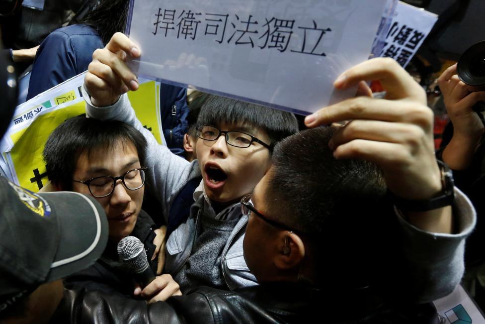 HK activist Wong seeks US support