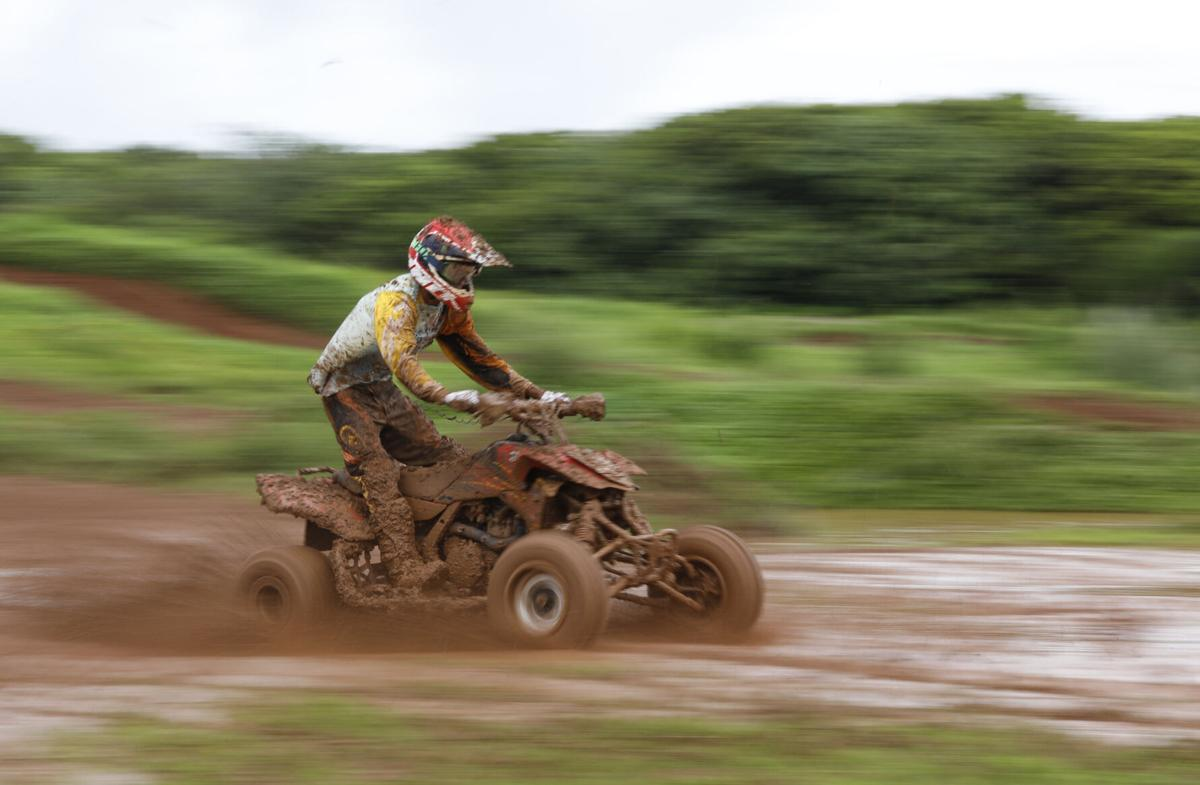 Monster motocross features tons of mud