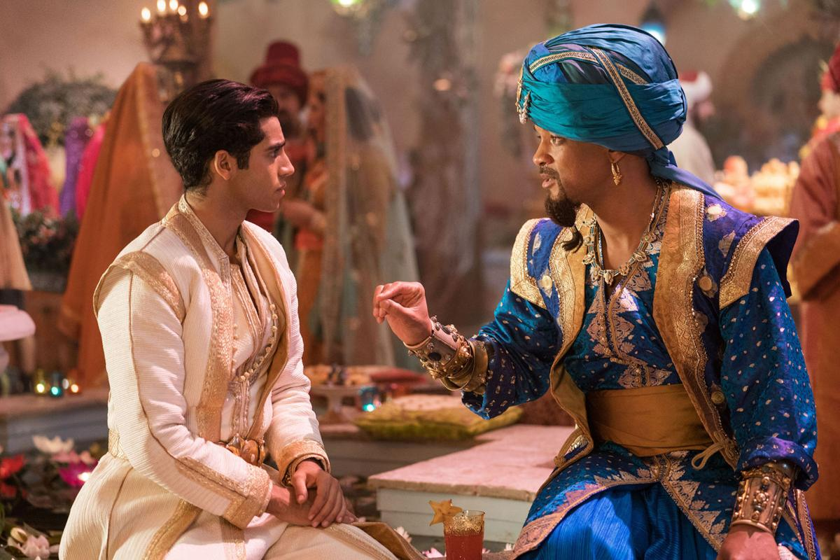 Live-action 'Aladdin' remake charms, in clumsy sort of way