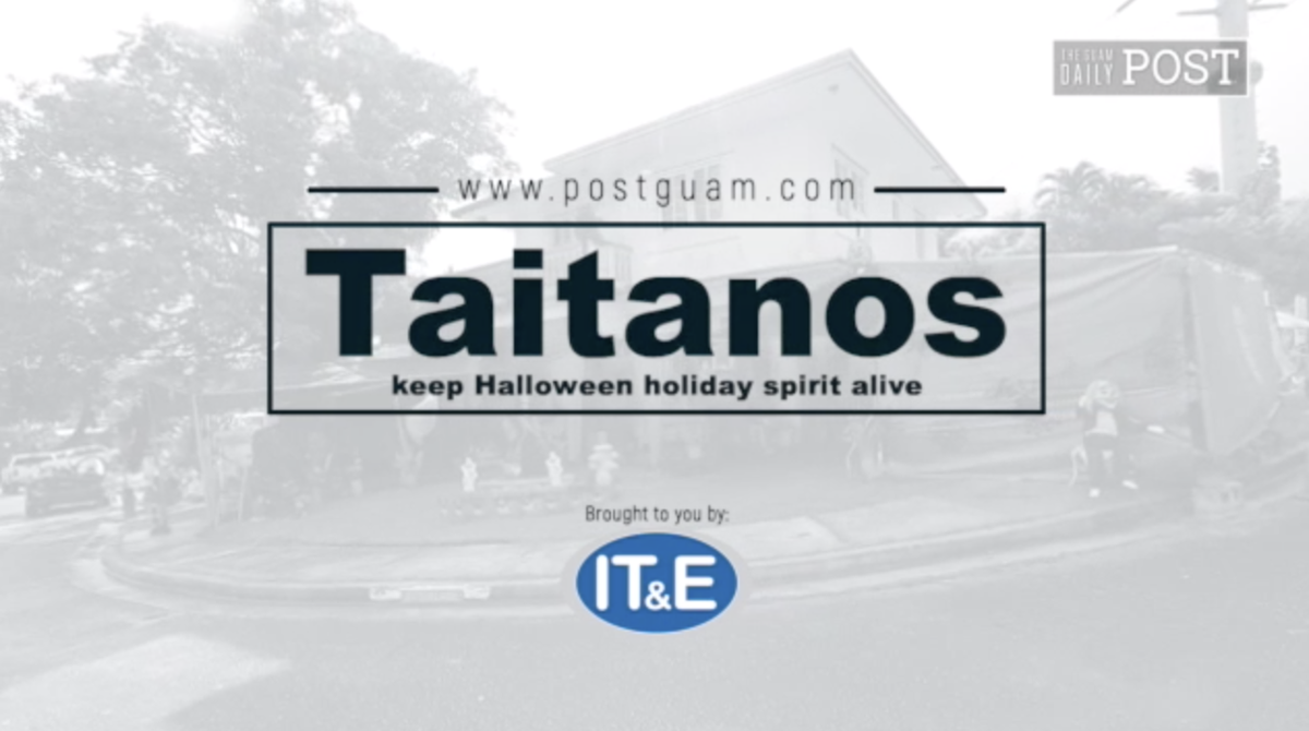 Taitanos keep Halloween holiday spirit alive