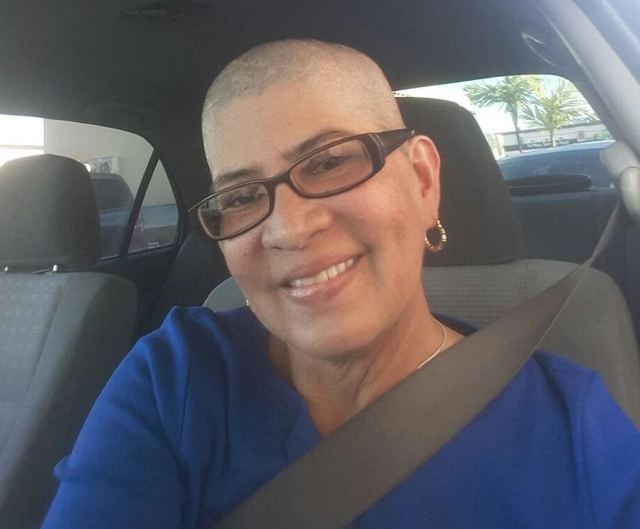 Frances Ignacio beats breast cancer after a year on life's roller coaster