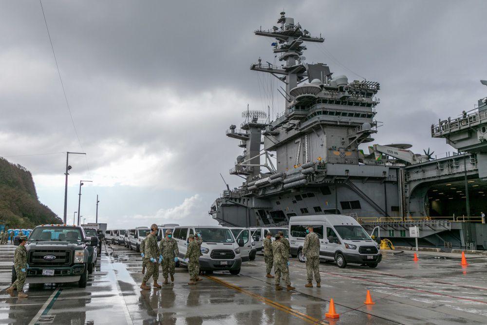 585 USS Roosevelt sailors catch COVID-19