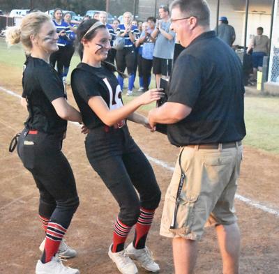 LeFlore softball wins district title