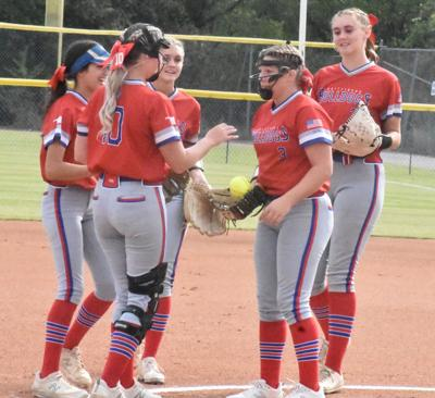 Whitesboro softball state quarterfinal in circle