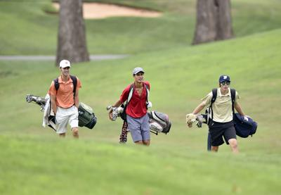 golfers at Fauquier Springs Country Club