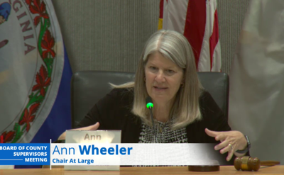 Board of Supervisors Chair Ann Wheeler. D-At Large
