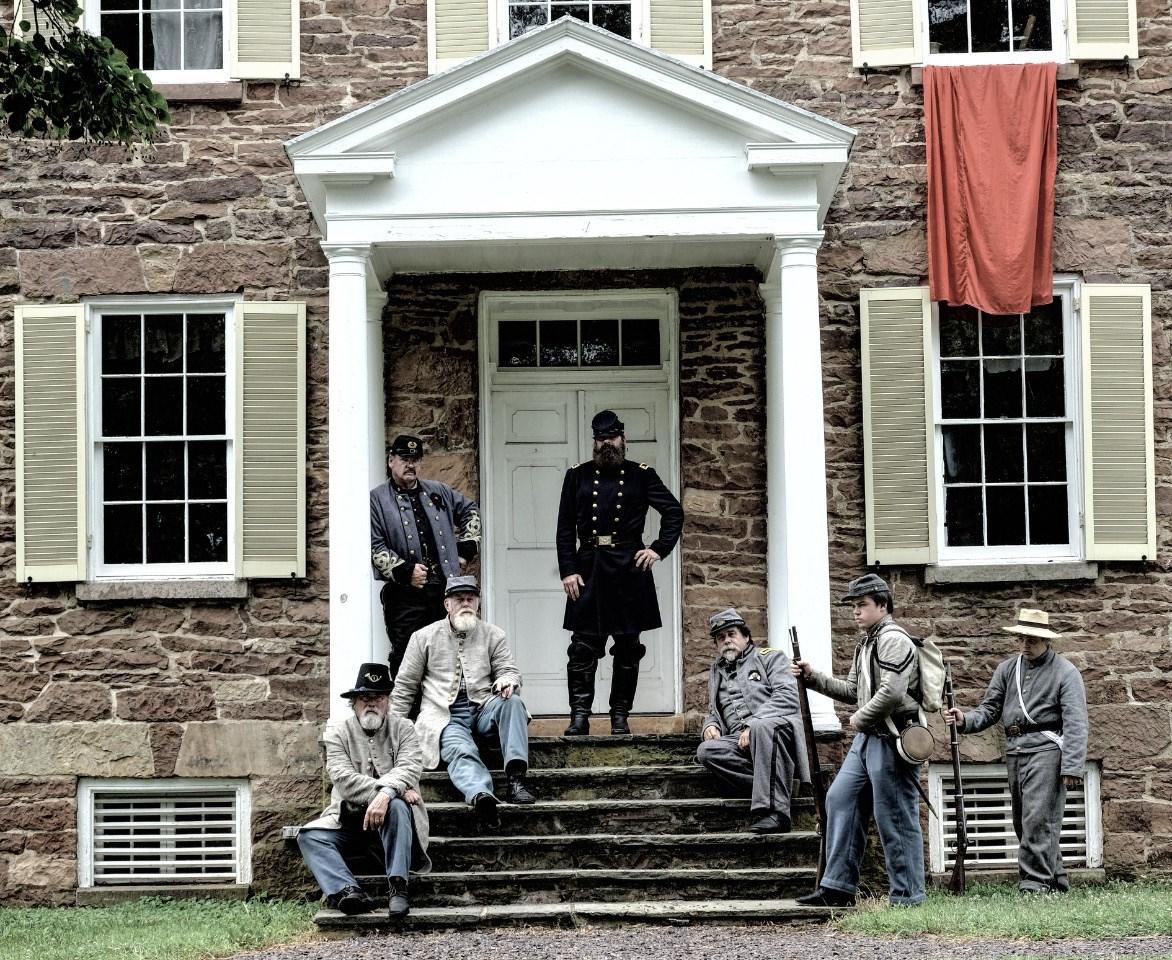 Civil War weekend at Ben Lomond