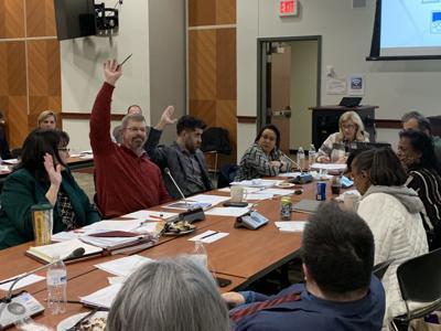 school board meeting March 13