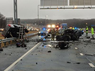 I-95 Express Lanes crash