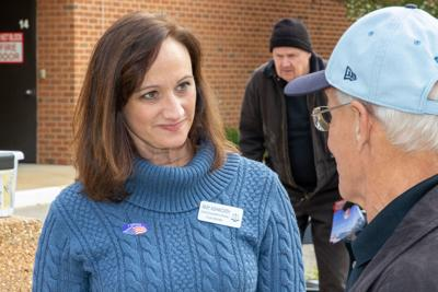 Amy Ashworth on Election Day Nov. 5