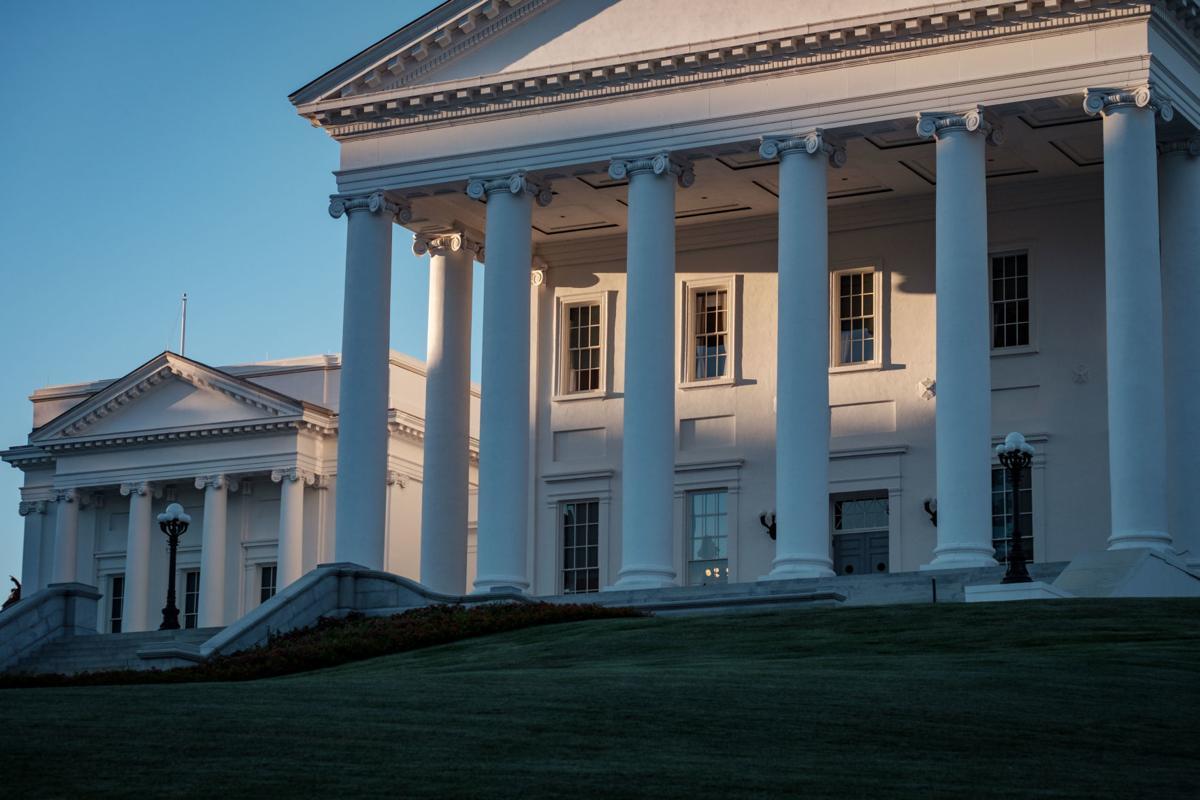 Virginia Capitol Building in Richmond