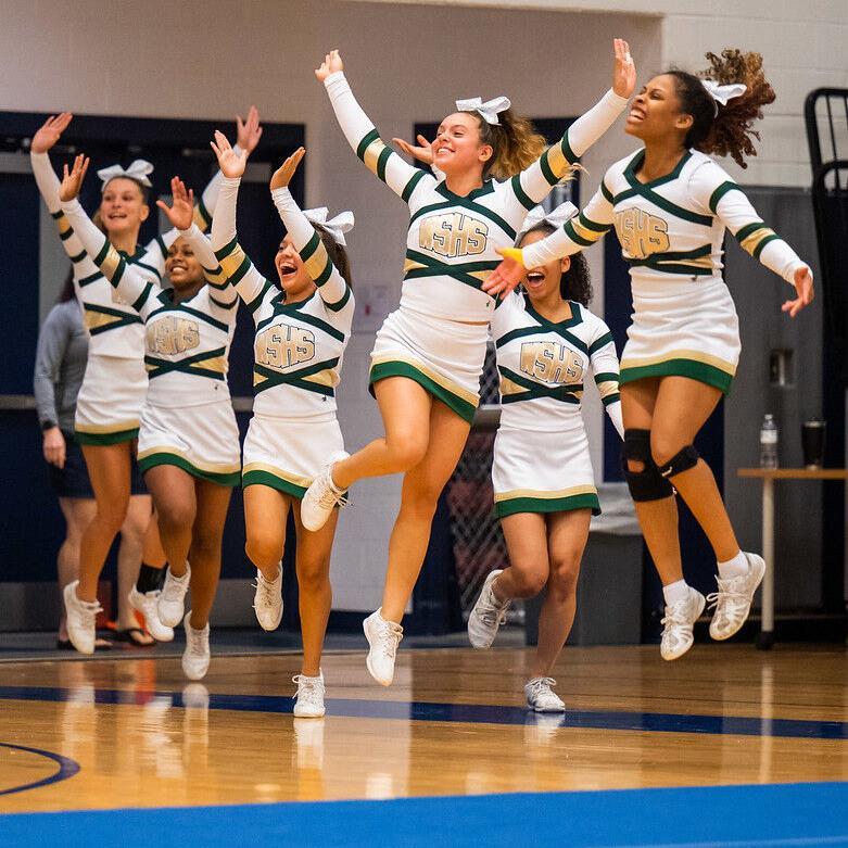 'We're not just cute sideline cheerleaders. We're athletes.'