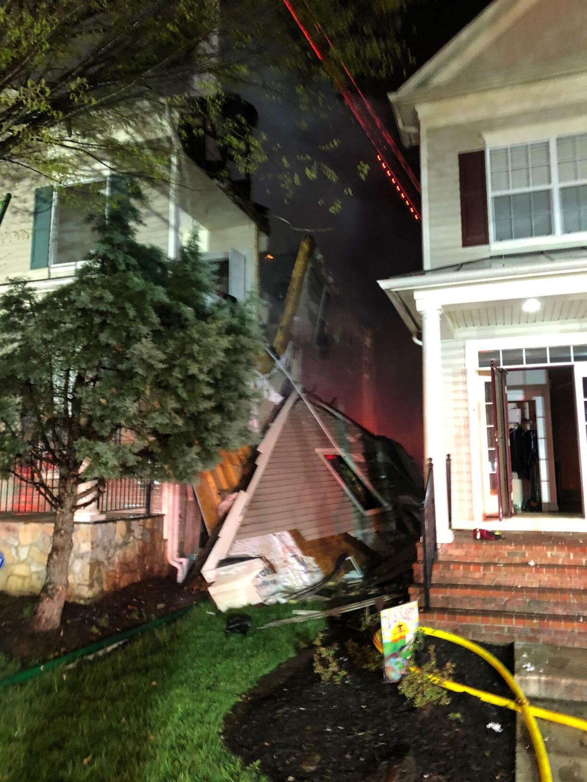 Bristow house fire Tarvie Circle