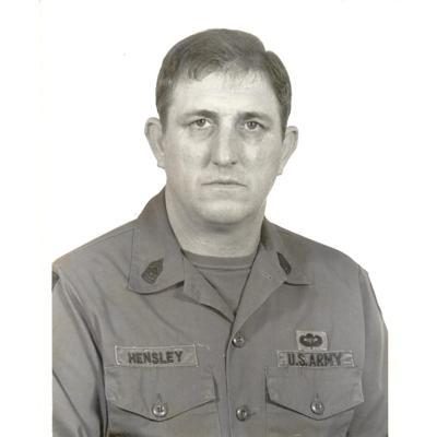 Bueford Hensley, Command Sergeant Major (Ret.)