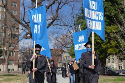 VCU Adjunct professors organize for fair pay